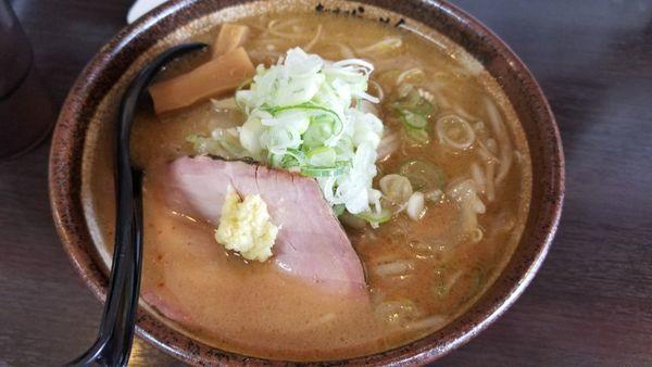 「炙り味噌らーめん」@麺匠 真武咲弥 松本店の写真
