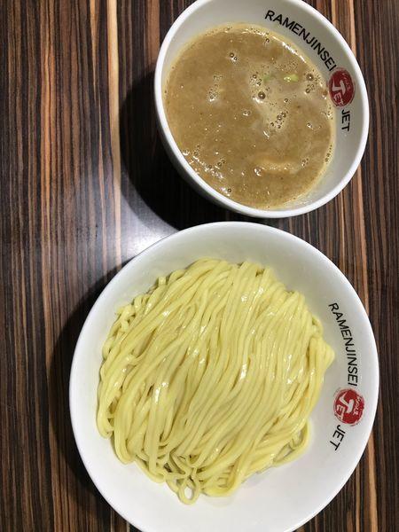 「鶏軍つけ麺 950円」@ラーメン人生 JET 福島本店の写真