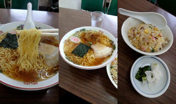 「『ラーメン+半チャーハンセット(¥950)』」@多万里食堂の写真