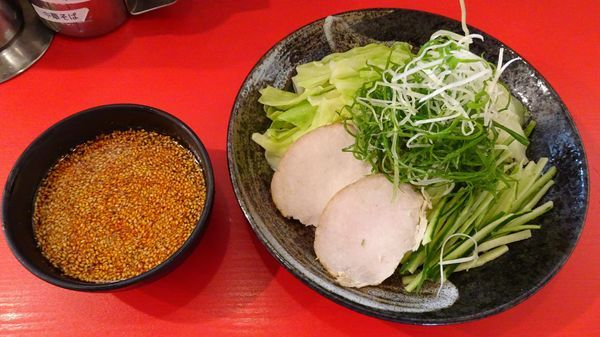 「広島つけ麺:大(957円)」@廣島つけ麺本舗 ばくだん屋 広島駅ビルアッセ店の写真