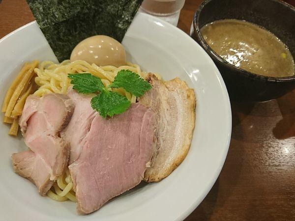 「特製豚骨魚介つけ麺(1080円)」@中華そば 七麺鳥の写真
