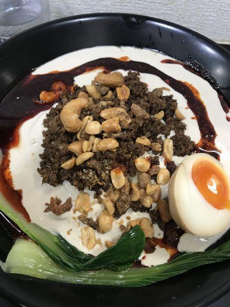 「クリーミー冷やし坦々麺」@自家製麺SHINの写真
