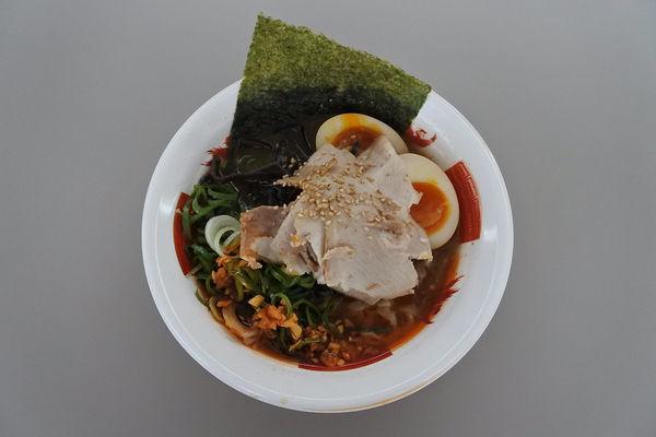 「福島豚骨~極上二種チャーシュー盛り味玉付き~+令和盛り」@ふくしまラーメンショー2019の写真