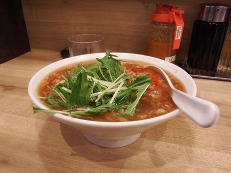 「サンラー麺」@東京餃子軒 町田店の写真
