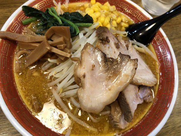 「味噌らーめん」@拉麺アイオイの写真