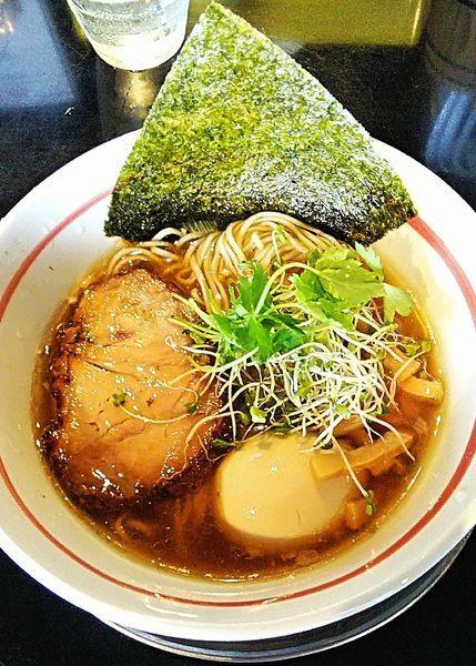 「味玉柳麺(醤油) 870円」@麺坊 炗の写真
