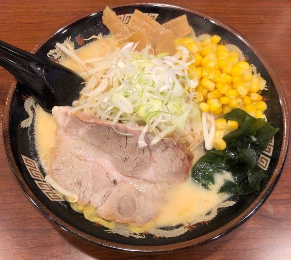 「札幌味噌らーめん+コーン(¥880)」@北海道らーめん ひむろ 浅草店の写真