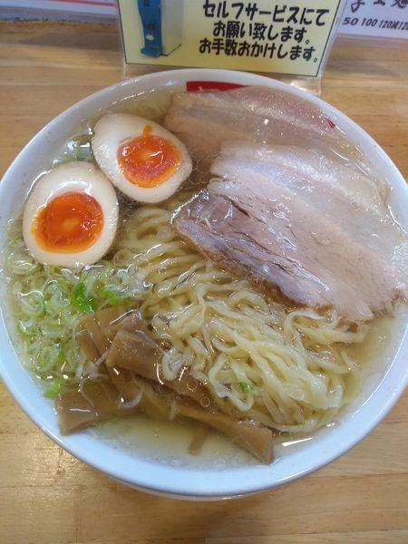 「ラーメン 620円 味玉(ラーパス)」@麺屋 工藤の写真