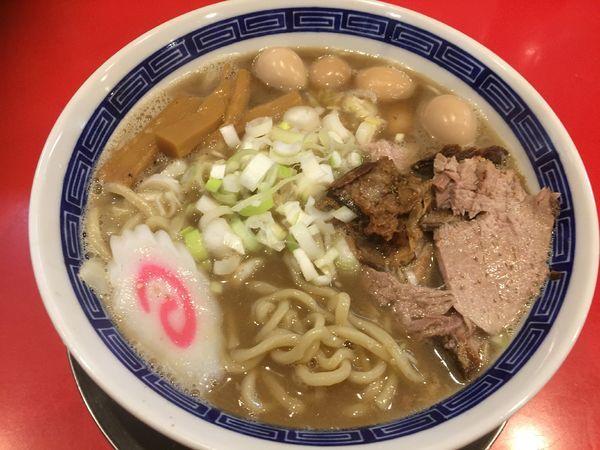 「【限定】適当煮干し中華そば¥800+うずら¥100」@ジャンプの写真