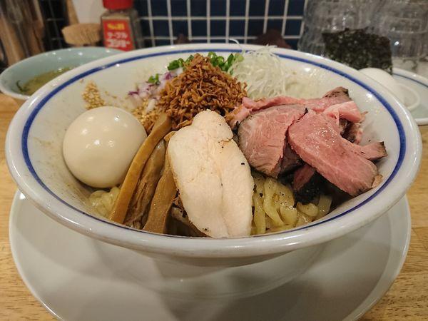 「特製油そば(塩)」@手打式 超多加水麺 ののくらの写真