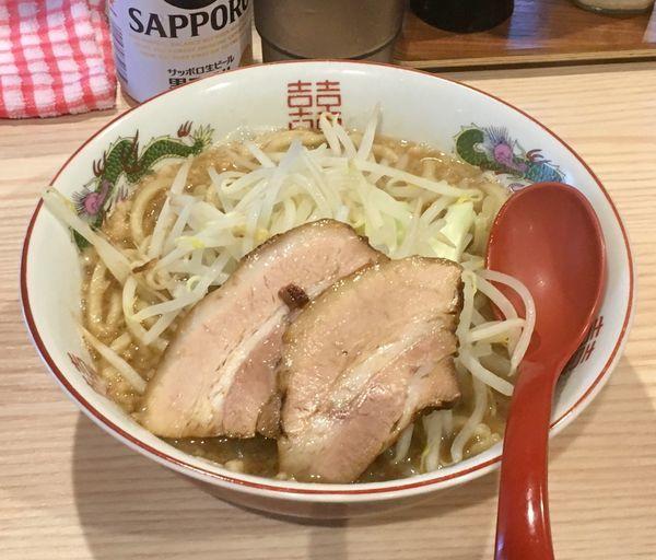 「二郎系コール無しラーメン【限定】」@拉麺 大公の写真