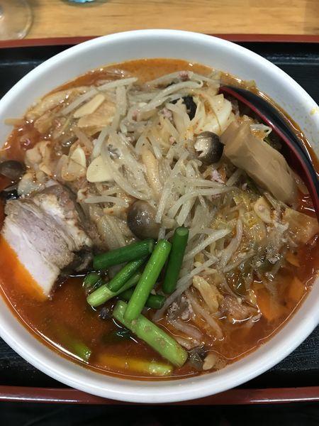 「【限定】野菜タップリ辛味噌タンメン」@味噌麺処 花道の写真