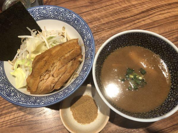 「ミニつけ麺+海苔」@ラーメン燈郎の写真