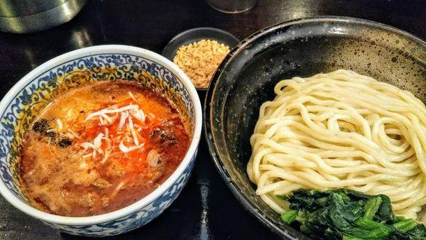 「担々つけ麺」@ほうきぼし+の写真