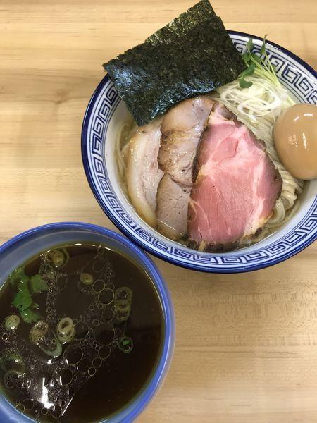 「昆布水つけ麺 醤油 特製」@麺処 有彩の写真