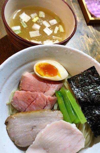 「濃厚昆布水つけ麺(塩.サービスチャーシュー)」@ラーメン屋ジョンの写真