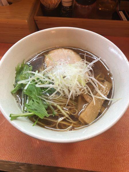 「煮干しの拉麺」@らうめん梵の写真