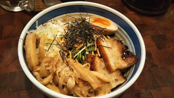 「旨辛和え麺」@麺や 庄のの写真