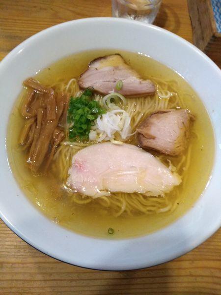 「塩中華そば 750円」@麺屋KABOちゃんの写真