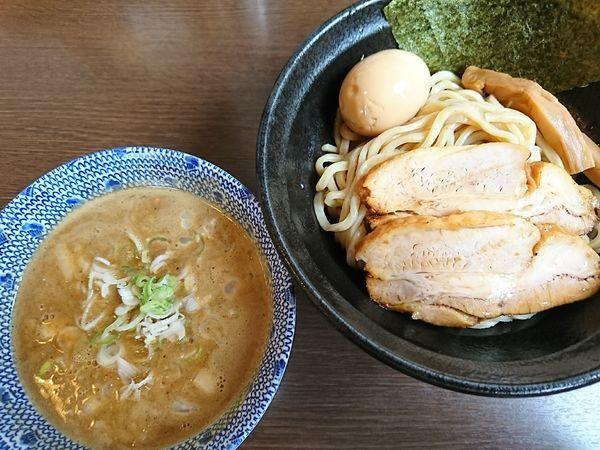「特製つけ麺(1100円)」@つけ麺 弥七の写真