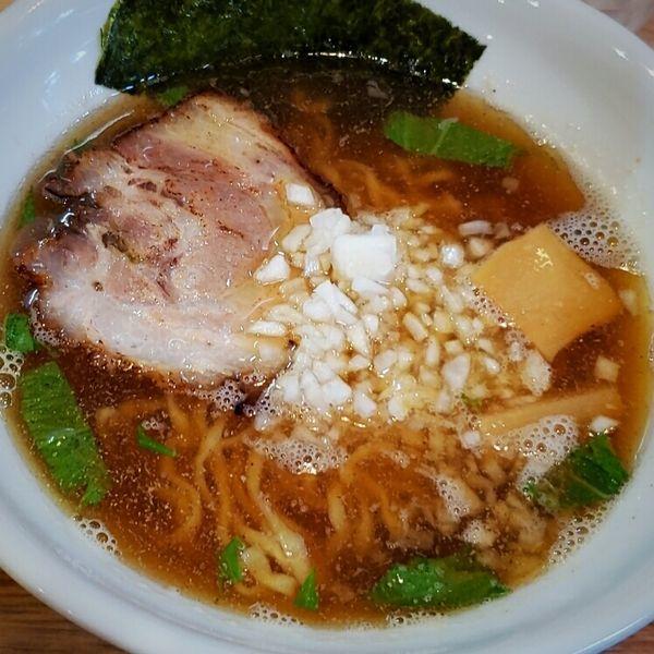 「煮干しらぁめん 600円」@らぁ麺屋まるわの写真