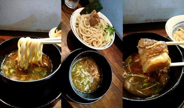 「『淡麗魚介つけそば 大(¥850)』」@麺屋 ざくろの写真