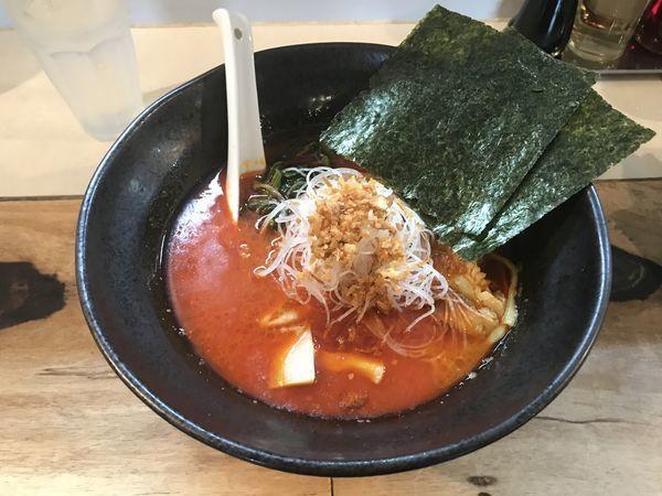 「麻辣麺+クーポン バニラアイス」@麺飯店 マラマラの写真