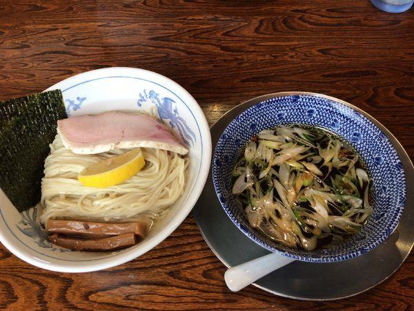 「昆布水つけ麺(醤油)」@中華そば 一楽の写真