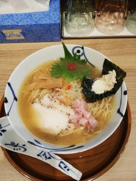 「鯛清湯らーめん(醤油)790円」@麺や 空月の写真