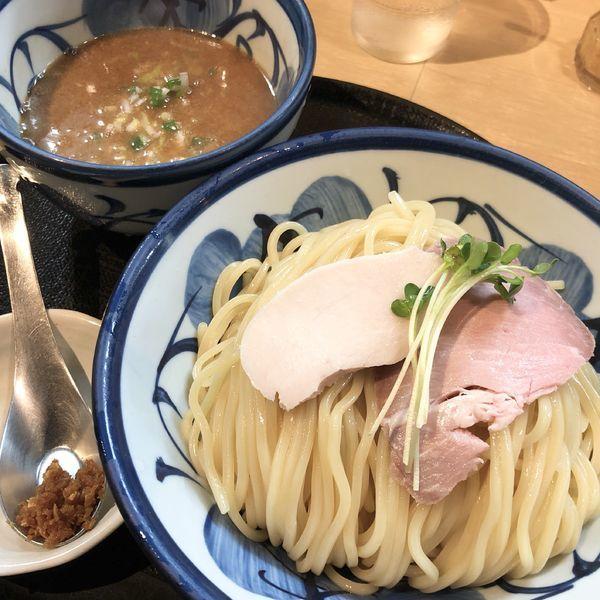 「鶏と魚介のつけ麺(大盛)」@つけ麺 たけもとの写真