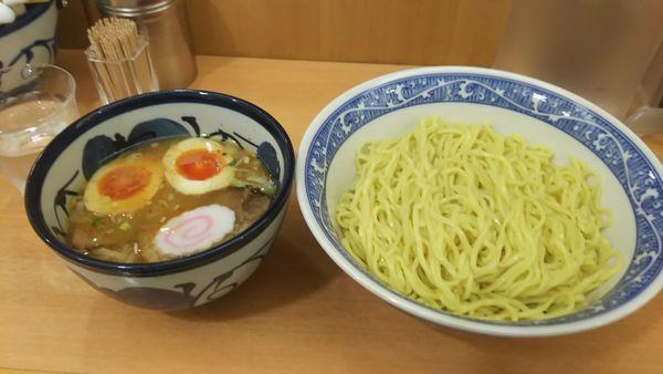 「特製つけ麺」@中華そば 青葉 船橋店の写真