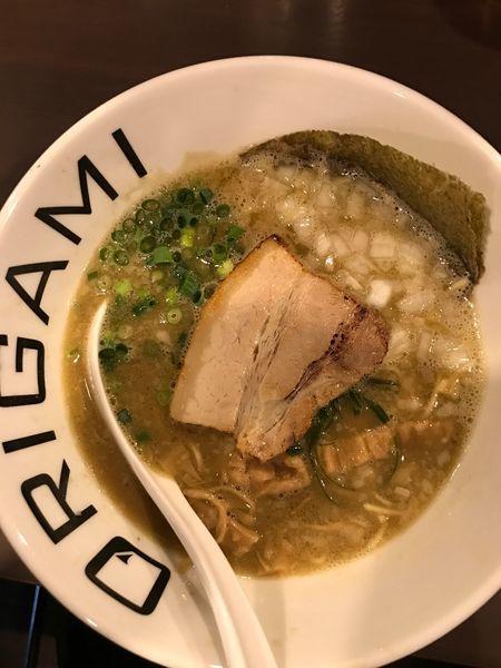 「こってりラーメン」@麺屋 ORIGAMIの写真