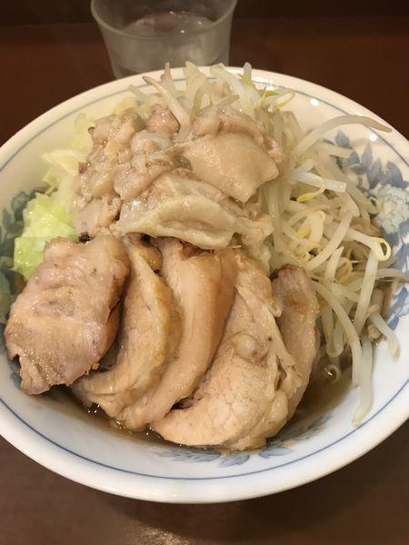 「豚増しラーメン」@らーめん陸の写真