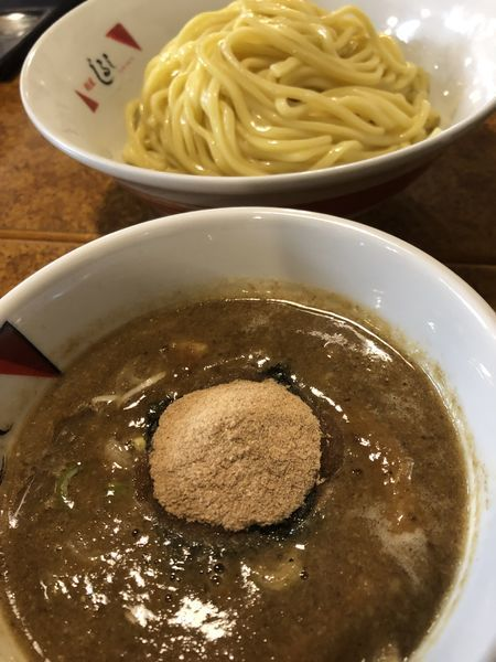 「濃厚つけ麺 ひやもり」@麵屋 しるしの写真
