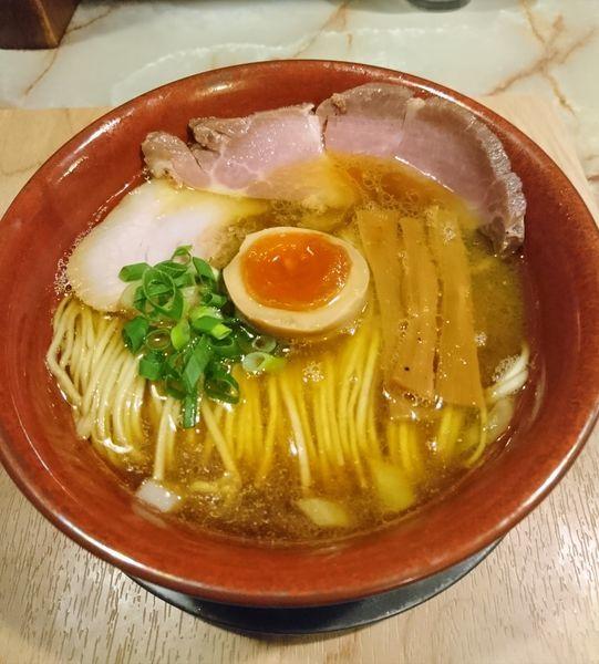 「あってり麺特選黒醤油」@あってりめんこうじ 安中原市店の写真