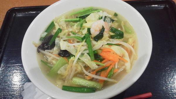 「海鮮野菜タンメン 「637円」」@横浜中華 王記厨房 イオンモール春日部店の写真