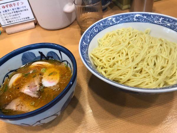 「特製つけ麺」@中華そば 青葉 中野本店の写真