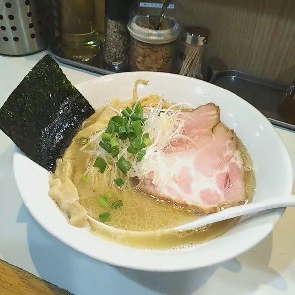 「塩らーめん(あっさり)」@麺屋 扇 SENの写真