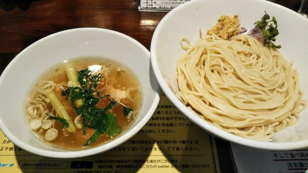 「塩生姜つけ麺」@塩生姜らー麺専門店MANNISHの写真