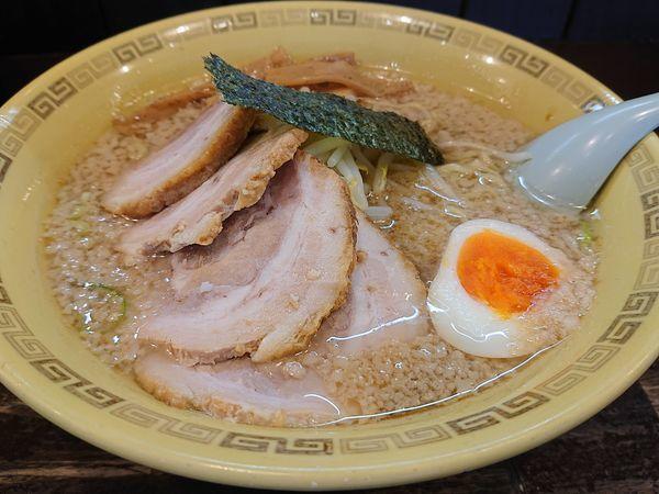 「チャーシュー麺(細麺、大盛り)」@江川亭 小金井本店の写真