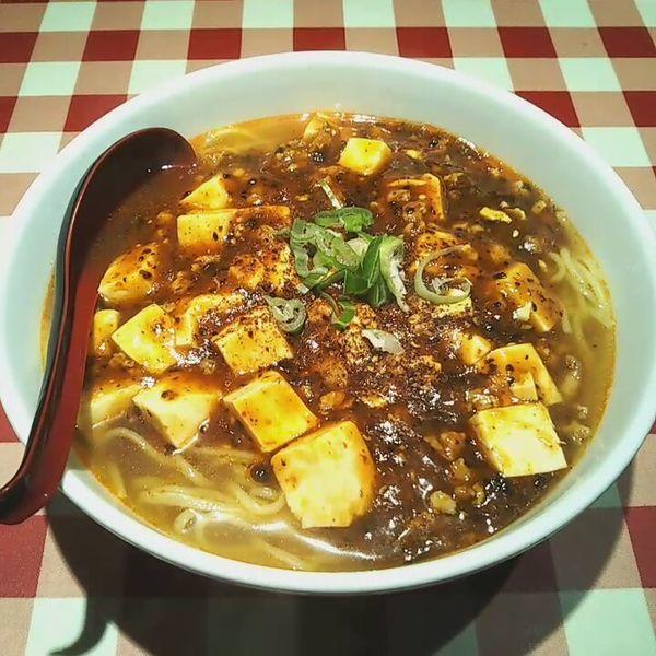 「麻婆麺」@龍昇飯店の写真