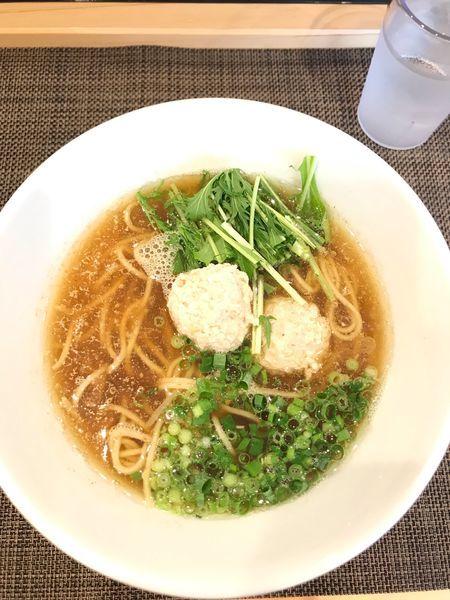 「醤油らーめん」@自家製麺ほんまの写真
