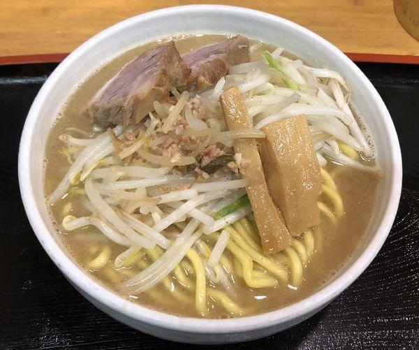「味噌ラーメン 大盛 野菜中盛」@味噌麺処 花道の写真