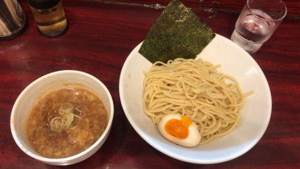 「つけ麺 こってり中盛り750円」@麺や とらの写真