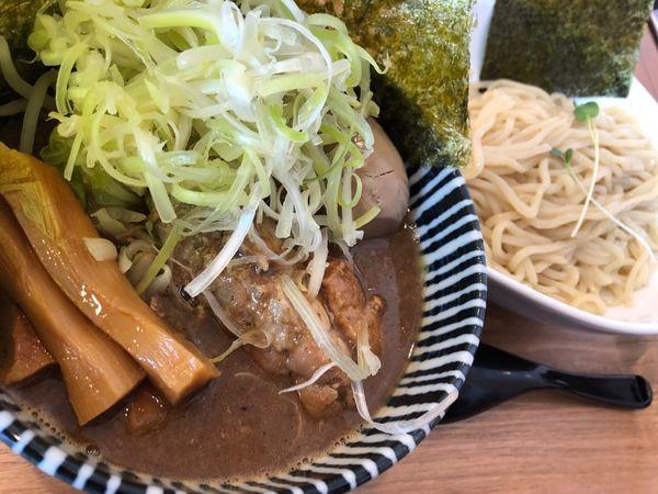 「極濃厚つけ麺 全部のせ」@麺屋 冽 -RETSU- 上尾店の写真