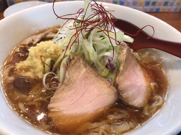 「冷やしらーめん850円+しょうが50円」@麺や うから家からの写真