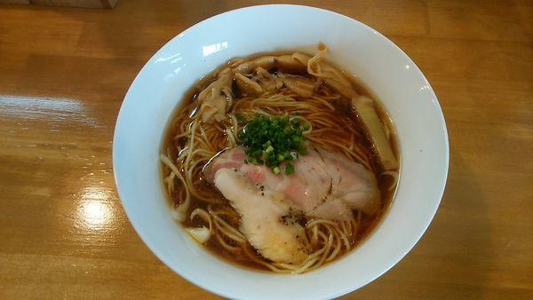 「地鶏そば(醤油) 780円」@麺屋 謝の写真