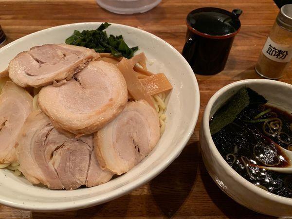 「つけ麺 醤油 スカイツリー盛り チャーシュー」@匠屋の写真