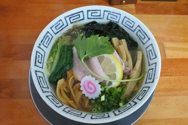 「【限定】冷たい煮干しそば¥780」@栃木中華そば 神志の写真