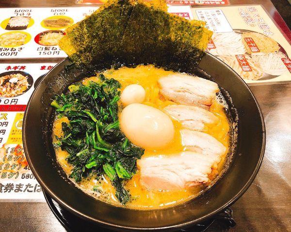 「特製ラーメン醤油」@横浜家系ラーメン まんぷく家 東岡崎駅前店の写真